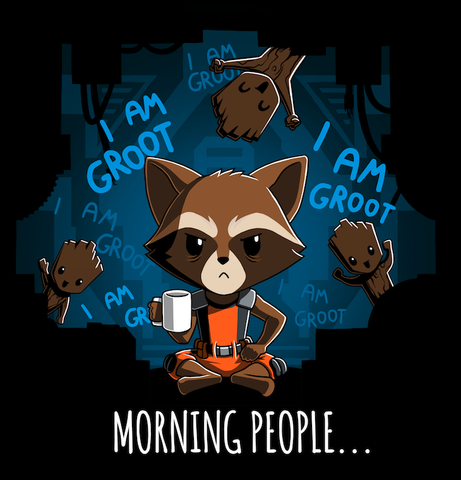 Morning People... T-Shirt Marvel TeeTurtle