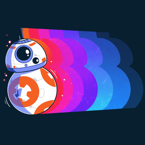 Psychedelic BB-8 T-Shirt Star Wars TeeTurtle