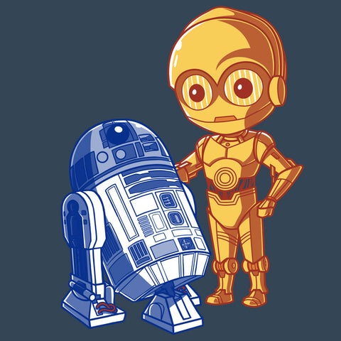 The Droids You're Looking For T-Shirt Star Wars TeeTurtle