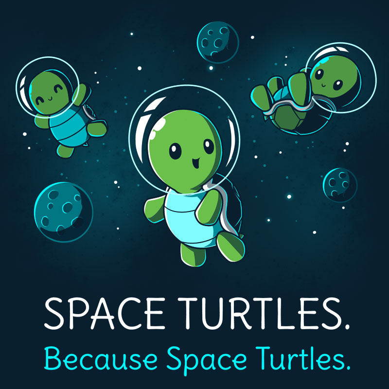 Space Turtles T-Shirt TeeTurtle