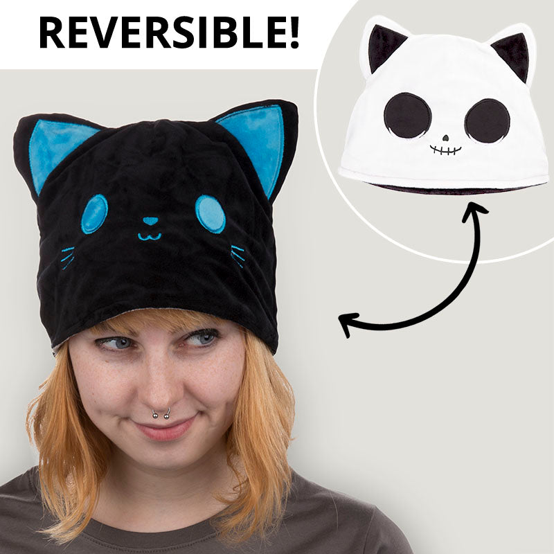 Reversible Cat Hat TeeTurtle