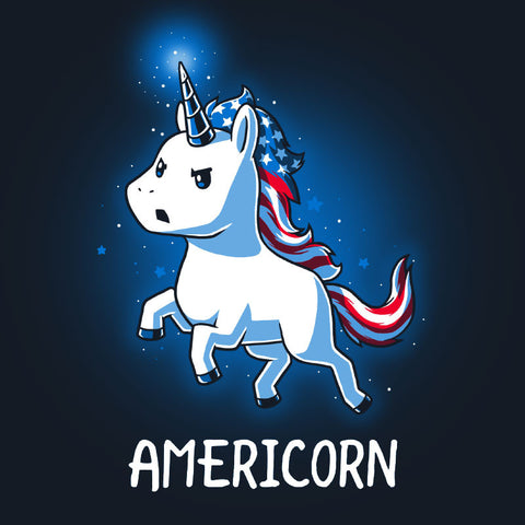 Americorn T-Shirt TeeTurtle