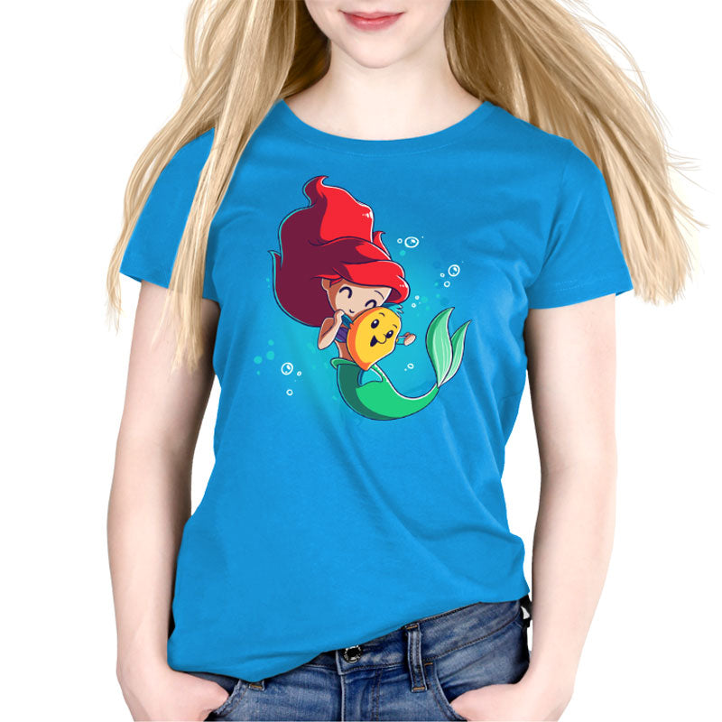 BFFs (Ariel and Flounder)