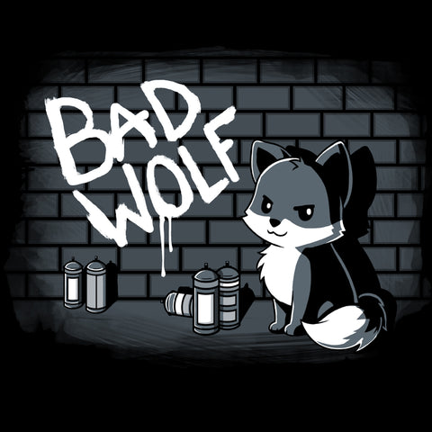 Bad Wolf T-Shirt TeeTurtle