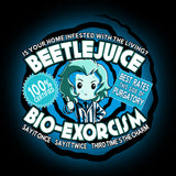 Beetlejuice Bio-Exorcism t-shirt TeeTurtle
