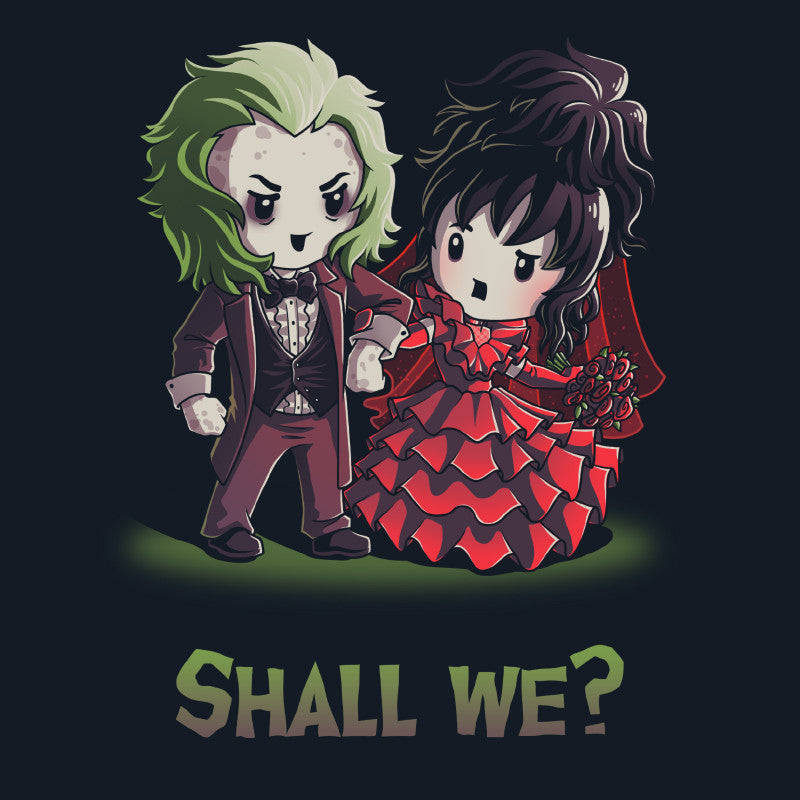 Shall We? t-shirt TeeTurtle