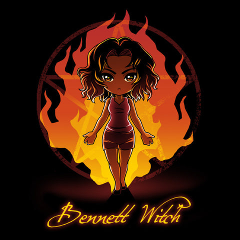 Bennett Witch t-shirt TeeTurtle