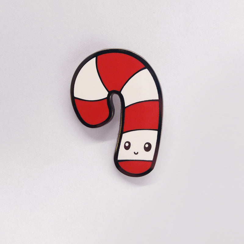 Candy Cane Charm Pin TeeTurtle