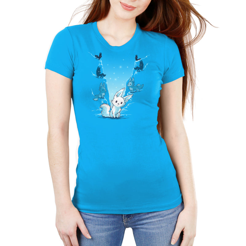 Crystal Critters Women's Ultra Slim T-Shirt Model Star Wars TeeTurtle