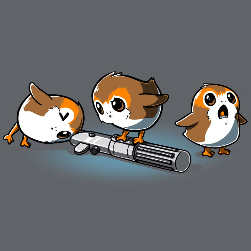 Curious Porgs T-Shirt Star Wars TeeTurtle