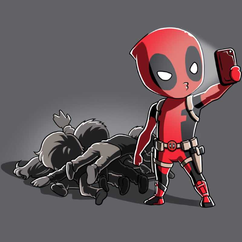 Deadpool Selfie! T-Shirt Marvel TeeTurtle