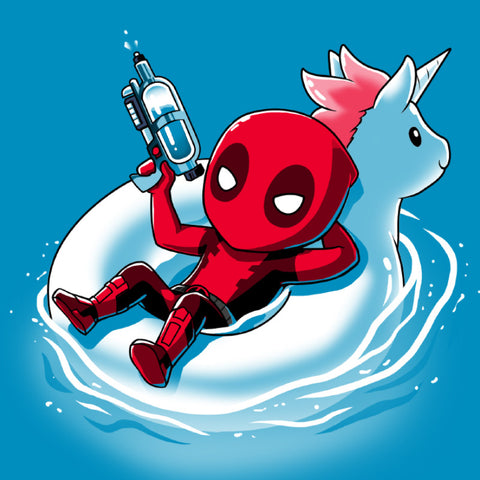 Deadpool-side T-Shirt Marvel TeeTurtle