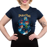 Disney Peter Pan Juniors T-Shirt Model Disney TeeTurtle