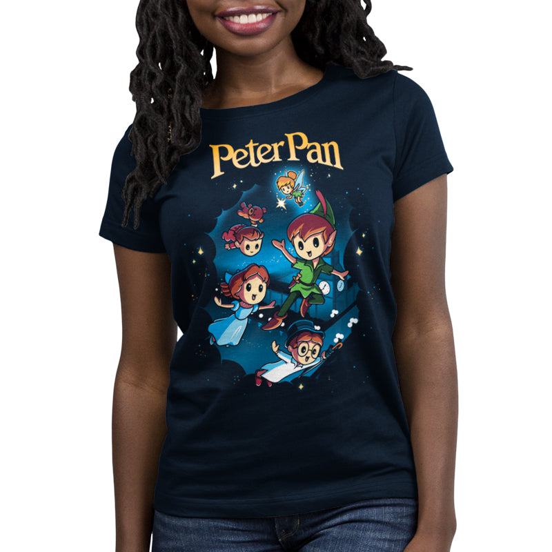 Disney Peter Pan Women's T-Shirt Model Disney TeeTurtle