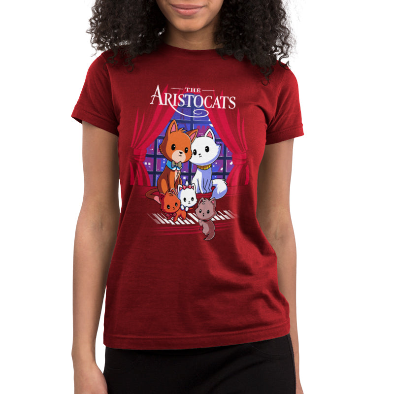 Disney The Aristocats Juniors T-Shirt Model Disney TeeTurtle