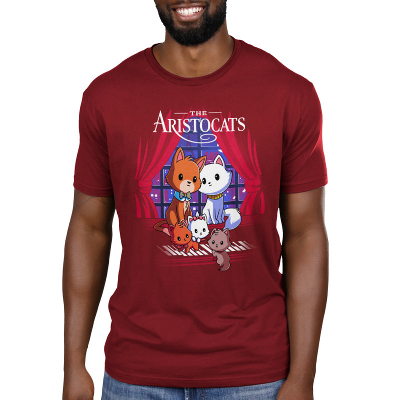 Disney The Aristocats Men's T-Shirt Model Disney TeeTurtle