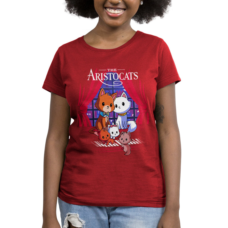 Disney The Aristocats Women's T-Shirt Model Disney TeeTurtle