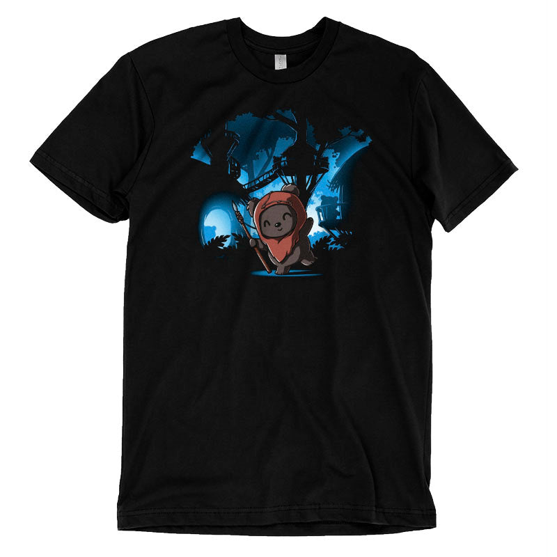 Ewok Village T-Shirt Star Wars TeeTurtle