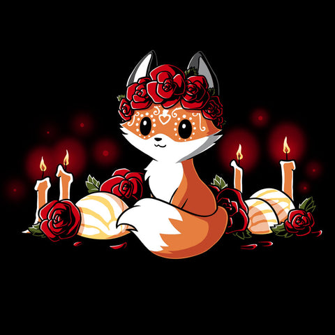 Dia de los Foxes T-Shirt TeeTurtle