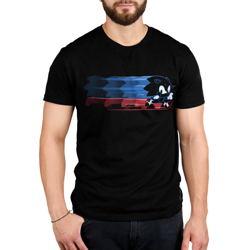 Gotta Go Fast Standard T-Shirt Model Sonic the Hedgehog TeeTurtle