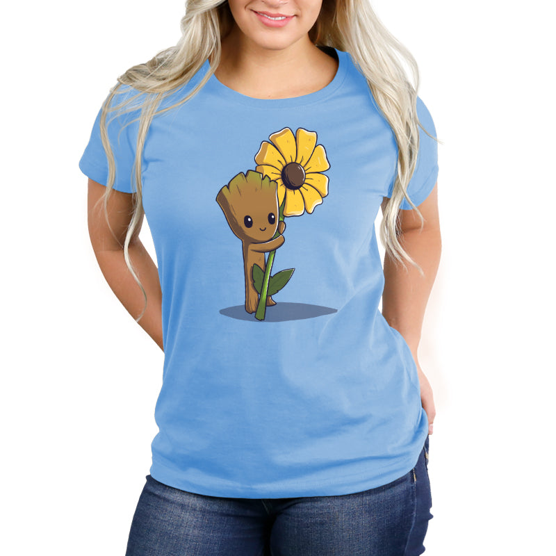 Green Thumb Women's Relaxed Fit T-Shirt Model Marvel TeeTurtle