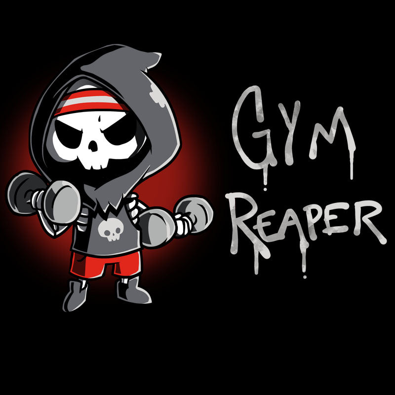 Gym Reaper T-Shirt TeeTurtle