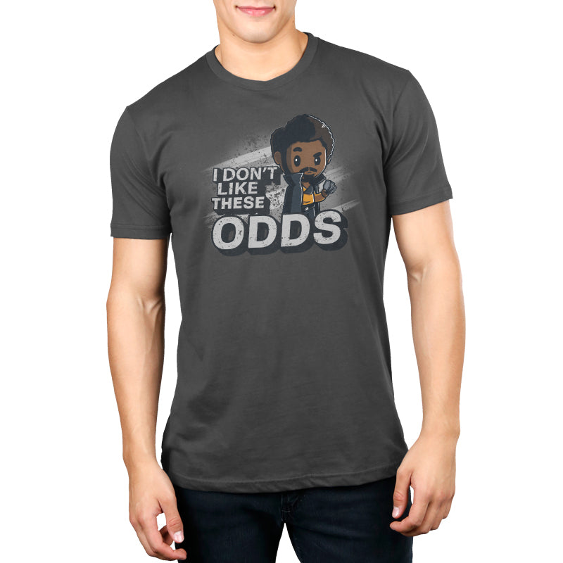 I Don't Like These Odds Men's T-Shirt Model Star Wars TeeTurtle