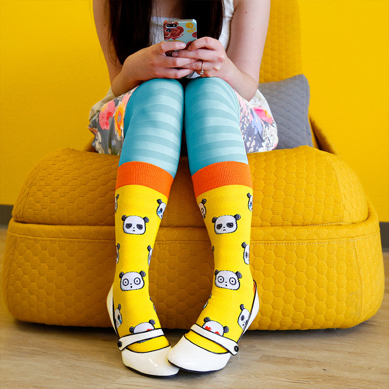 Pandamoji Socks