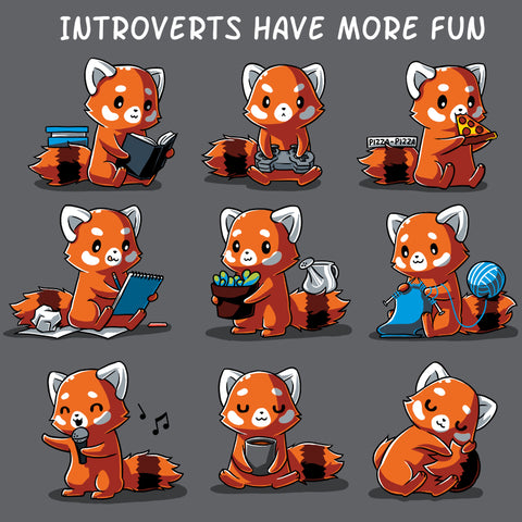 Introverts Have More Fun T-Shirt TeeTurtle