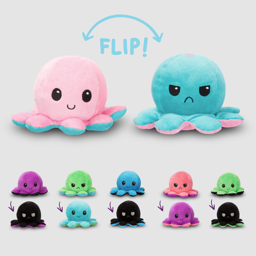 Reversible Octopus Mini Wave 2 Plushies TeeTurtle Minis