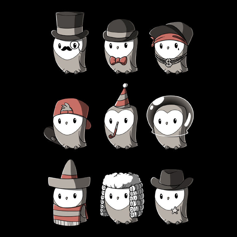 Owls With Hats