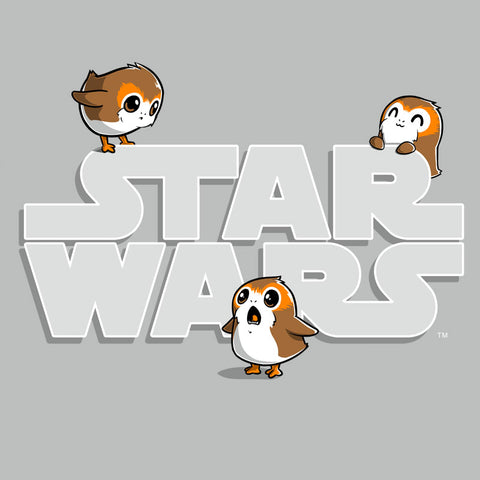 Porgs T-Shirt Star Wars TeeTurtle