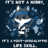 Post-Apocalyptic Life Skill T-Shirt TeeTurtle