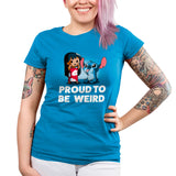 Proud to be Weird Women's Ultra Slim T-Shirt Model Disney TeeTurtle