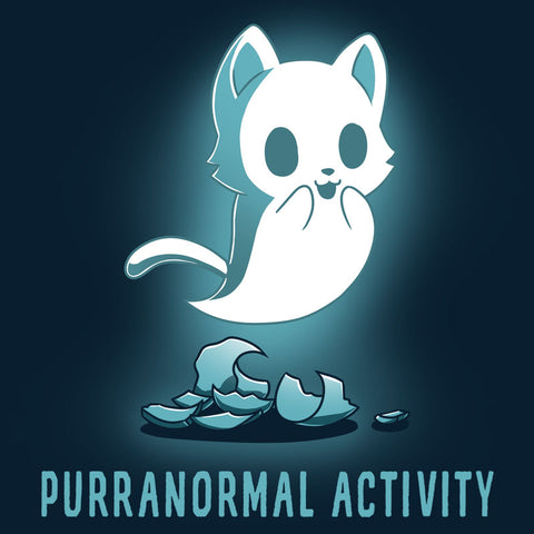 Purranormal Activity T-Shirt TeeTurtle