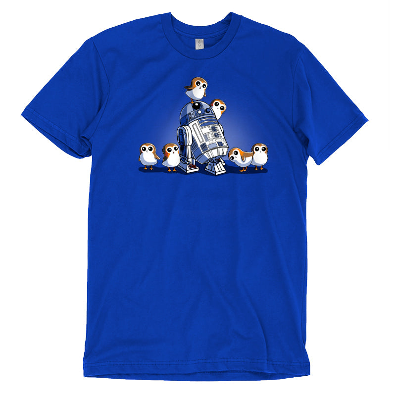 R2D2 and Porgs T-Shirt Star Wars TeeTurtle