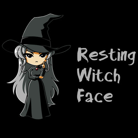 Resting Witch Face T-Shirt TeeTurtle