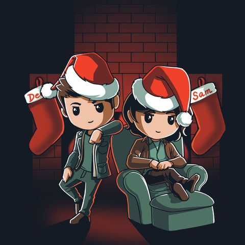 A Supernatural Christmas T-Shirt Supernatural TeeTurtle
