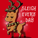Sleigh Every Day T-Shirt TeeTurtle