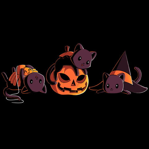 Spooky Kitties T-Shirt TeeTurtle