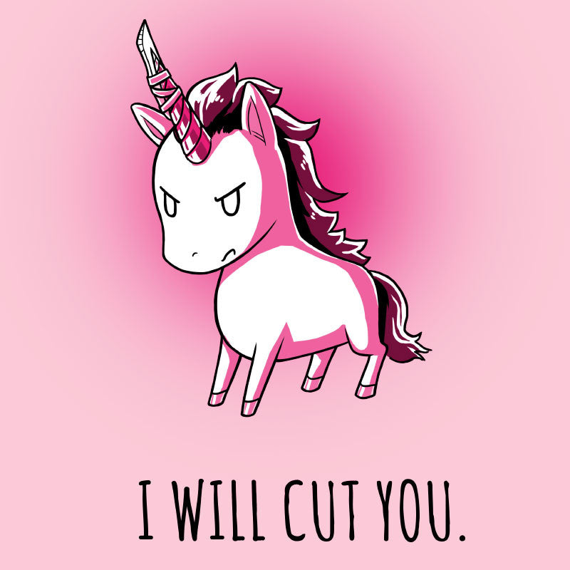 Stabby the Unicorn (Pink) Tank Top