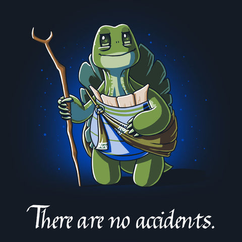 There Are No Accidents t-shirt Kung Fu Panda TeeTurtle
