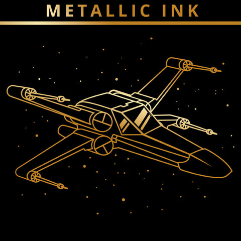 X-Wing (Gold Metallic Ink)