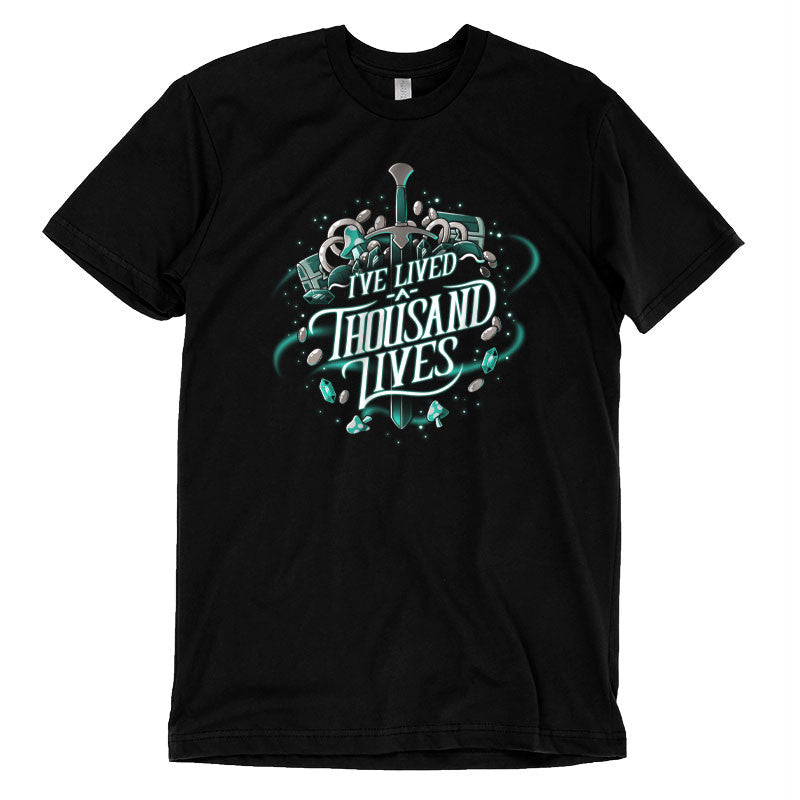 I've Lived A Thousand Lives t-shirt TeeTurtle