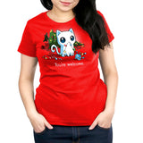A Very Bad Kitty Christmas Women's Relaxed Fit T-Shirt Model TeeTurtle
