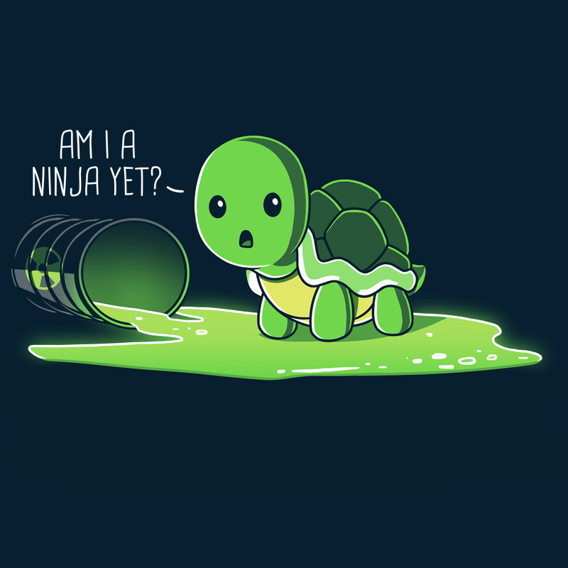 Am I A Ninja Yet? T-Shirt TeeTurtle