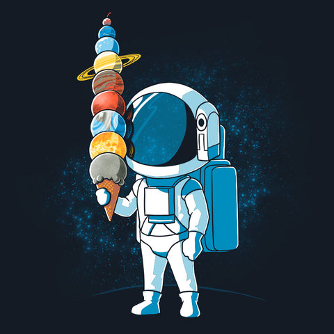 Astronaut Ice Cream t-shirt TeeTurtle