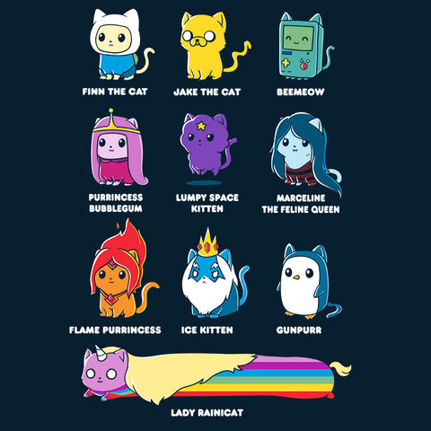 Catventure Time! T-Shirt Adventure Time TeeTurtle
