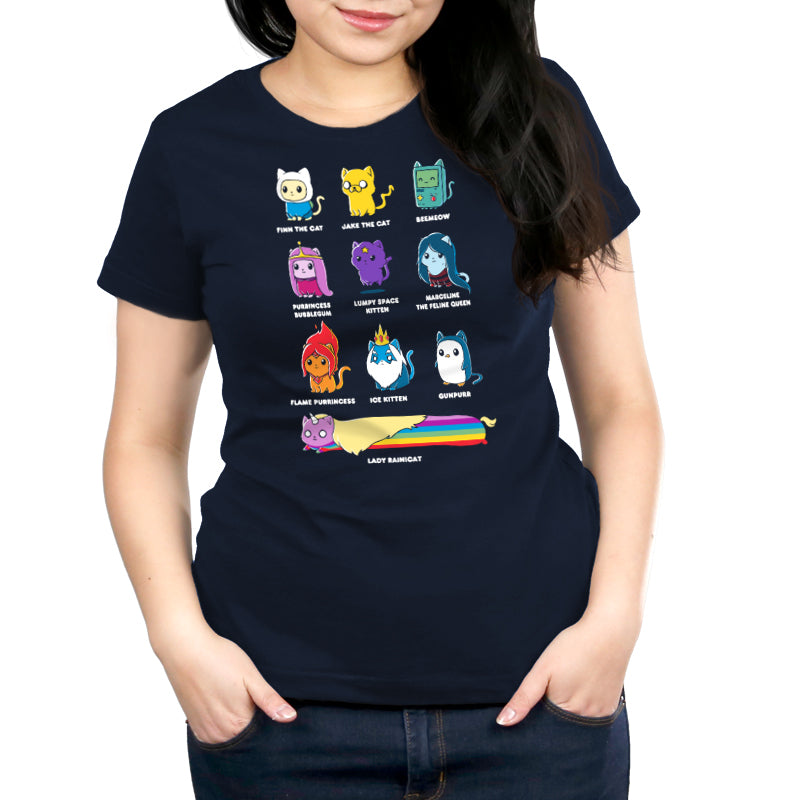 Catventure Time Women's Relaxed Fit T-Shirt Model Adventure Time TeeTurtle