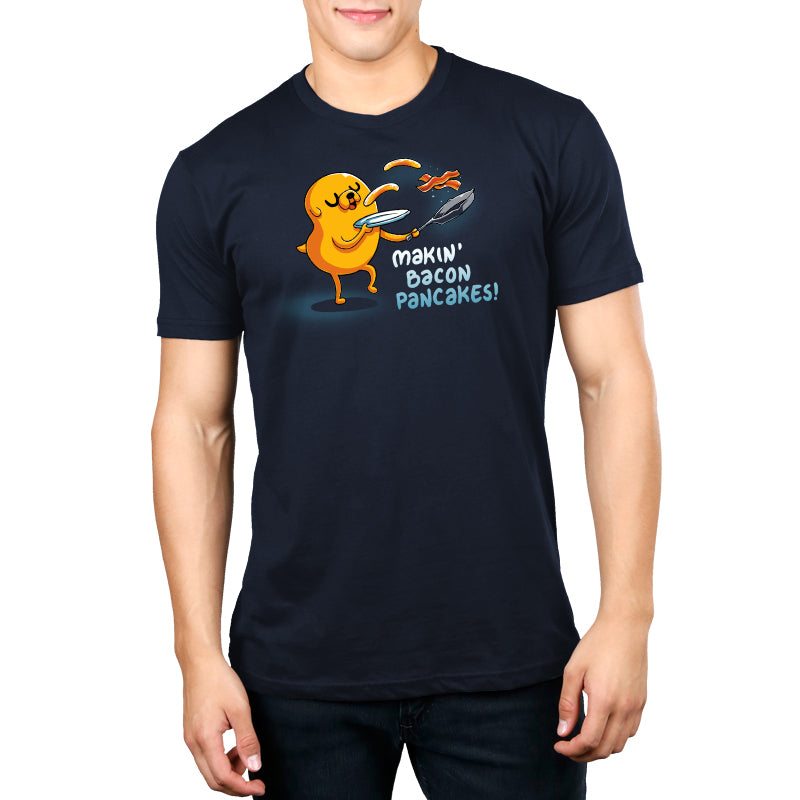 Bacon Pancakes Men's T-Shirt Model Adventure Time TeeTurtle